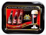 Lausitzer Porter, Bier, Serviertablett, Kellnertablett, Porterbier,Blechtablett