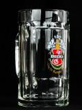 Becks Bier, Bierseidel, Bierkrug 0,4l, sehr alte Ausführung, löscht Kenner-Durst