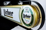 Licher Bier, Tresenreklame, Neonleuchte, Leuchtreklame, Leuchtwerbung