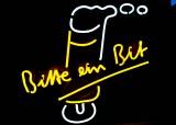 Bitburger Bier, XXL Neon Leuchtreklame, Leuchtwerbung, Sehr seltene Ausführung
