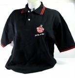 Havana Club Polo-Shirt , schwarz/rot, Gr.S/M mit Logo