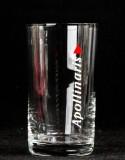 Apollinaris Wasser Glas / Gläser, Trinkglas, Wasserglas 0,15l, schrift senkrecht
