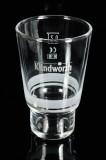 Klindworth Fruchtsaft, Longdrinkglas, Cocktailglas 0,2l weiß satinierte Veredelung