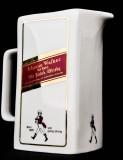 Johnnie Walker Whisky, Pitcher, Wasser Karaffe, beige Ausführung, Men