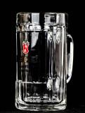 Becks Bier, Gläser, Staufeneck Seidel 0,4l, Silberne Schrift