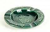 Berentzen, Likör, Aschenbecher aus Keramik, grün