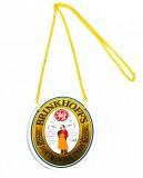 Brinkhoffs Bier, Zapfhahnschild an Goldkette aus Metall