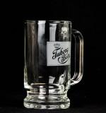 Tuborg Beer, Glaskrug, Bierseidel, Bierkrug 0,25l, satiniertes Logo
