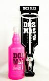 Dos Mas, Likör, LED 3 Liter Flaschenhalter, Spender incl 3 Liter Flasche Pink