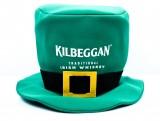 Kilbeggan Whisky, Hut, Zylinder, grüne Ausführung, St. Patricks Day