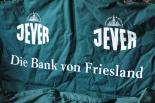 Jever Bier Friesenbank Bank, Sitzbank,  zusammenklappbar