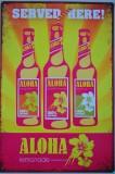 Aloha Lemonade SERVED HERE  Blechschild Werbeschild