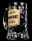 Bacardi Oakheart Rum Glas / Humpen / Gläser, Krug, 2018