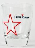San Pellegrino Wasserglas, Stern Trinkglas, 0,15l