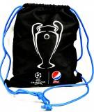 Pepsi Max Cola UEFA CL Rucksackbeutel Sportbeutel Turnbeutel