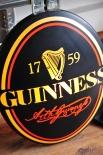Guinness Beer Leuchtreklame, Leuchtwerbung Black