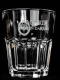 Bacardi Rum, Cocktail Glas Frozen Daiquiri Reliefstreung