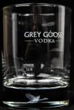 Grey Goose Vodka, Hologramm Glas, Gans Tumbler, Vodkaglas…sehr selten