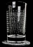 The Botanist Islay Gin, Relief Longdrinkglas ohne Filzuntersetzer