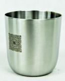 Glenmorangie Whisky, Glas Craftmans Cup aus Edelstahl