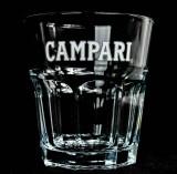 Campari Likör, Retro Campari Cocktail Glas im Relief