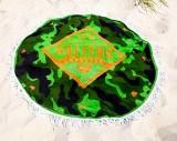 Salitos Bier, Picknikdecke, Stranddecke, Tischdecke aus Frottee Camouflage