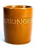 Wikinger Met, Tonbecher, Ton Glas, Tonkrug 0,2l, braune Ausführung