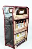 Tucher Bier, Kühltasche, Kühlbox für 6er Flasche mit Reißverschluß