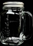 Granini Saft, Jar-Glas Limo Glas, Eimachglas, Gläser mit Deckel