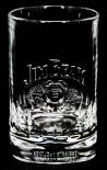 Jim Beam Glas / Gläser, Tumbler, Reliefschliff, schwere Ausführung