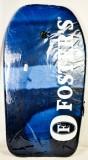 Fosters Bier, Paddle Board, Surfboard, blaue Ausführung