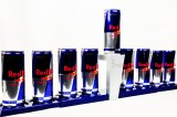 Red Bull Kühlschrank Leder : Red bull gläser leuchtreklame eisbox uhr cap