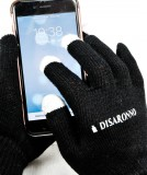 Disaronno Amaretto, Damen Smartphone Woll Handschuhe, Handyhandschuhe, schwarz