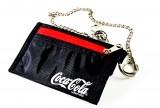 Coca Cola, Portemonaie, Geldbörse an Kette mit verschiedenen Fächern. Orig. USA