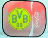 Coca Cola, Auto Sonnenschutz, Sonnenblende, Seitenfenster BVB Dortmund