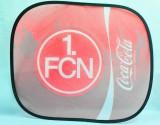 Coca Cola, Auto Sonnenschutz, Sonnenblende, Seitenfenster 1. FC Nürnberg