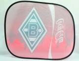 Coca Cola, Auto Sonnenschutz, Sonnenblende, Seitenfenster Borussia Mönchengladbach