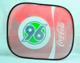Coca Cola, Auto Sonnenschutz, Sonnenblende, Seitenfenster Hannover 96