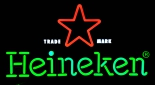 Heineken Bier LED Leuchtreklame, Neonleuchte, Leuchtwerbung 45cm