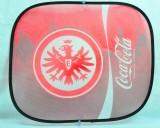 Coca Cola, Auto Sonnenschutz, Sonnenblende, Seitenfenster Eintracht Frankfurt