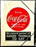 Coca Cola, A4 Format Sammelmappe mit Gummizug, Schulmappe Drink Coca Cola