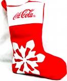 Coca Cola, XXL Nikolaus Strumpf, Weihnachs Strumpf, Weihnachtssocke, Stiefel