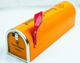 Veuve Clicquot, Champagner, Voll Metall US Briefkasten, Champagner Box