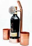 Glenfiddich Whisky, Flaschenaufsteller, Glorifier IPA mit Flasche und Gläsern