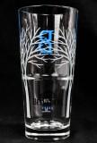 Belvedere Vodka, Longdrink Glas mit legendärer Baumsignatur B 2cl, 4cl