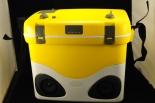 Schöfferhofer Weizen Kühlbox / Kühltasche mit Radio und Iphone Dockingstation