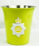 42 Below Vodka, Flaschenkühler Australian Federal Police Logo,gelbe Ausführung