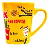 Twix, Kaffeebecher, Kaffeetasse, Kakaobecher  Coffe and Twix