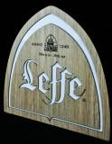 Leffe Bier, LED Leuchtreklame, Leuchtwerbung Abbaye de Abbij vav