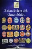 Flensburger Pilsener 125 Jahre Poster, Plakat Zeiten ändern sich II